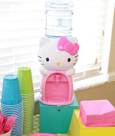 hello kitty cumpleanos agua