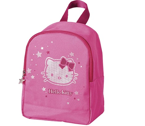 mochila hello kitty kiabi rosa niña