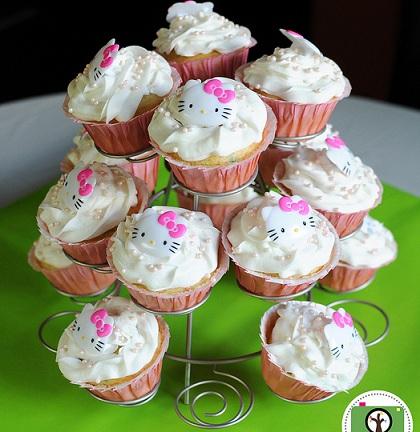 cupcakes cumple hello kitty