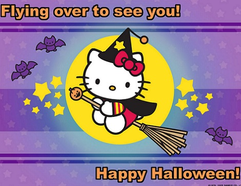 hello kitty halloween bruja