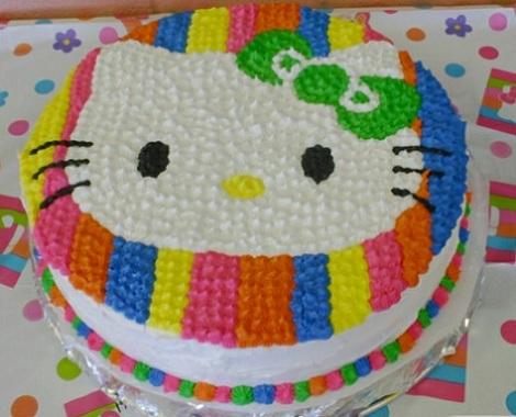 ideas hello kitty tarta colores