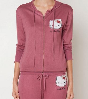 pijamas hello kitty oysho otoño sudadera