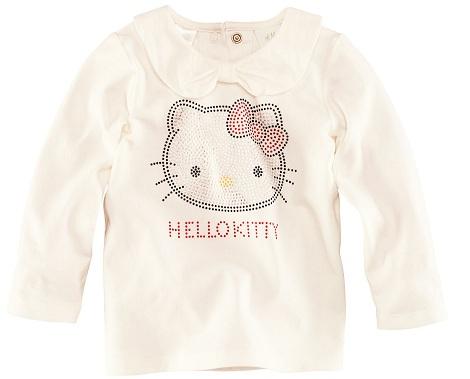 ropa bebé hello kitty hm camiseta