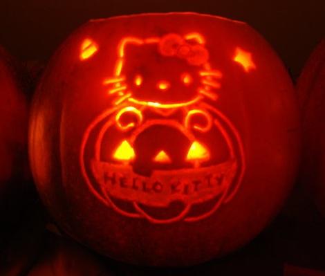 calabazas halloween hello kitty nombre