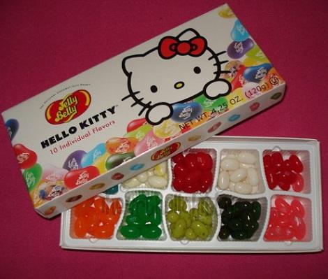 Chucherías de Hello Kitty gominolas