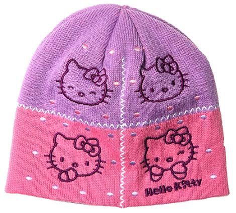 Gorro de lana Hello Kitty
