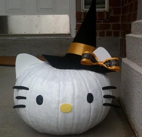 hello kitty halloween calabaza