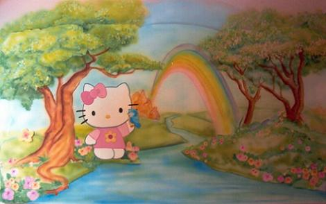 Mural Kitty